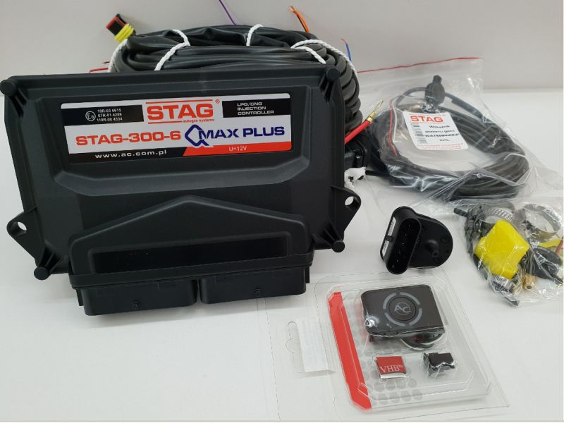 MINI KIT STAG Q-MAX PLUS 6CIL