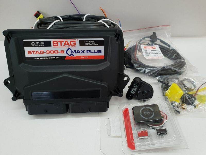 MINI KIT STAG Q-MAX PLUS 8CIL