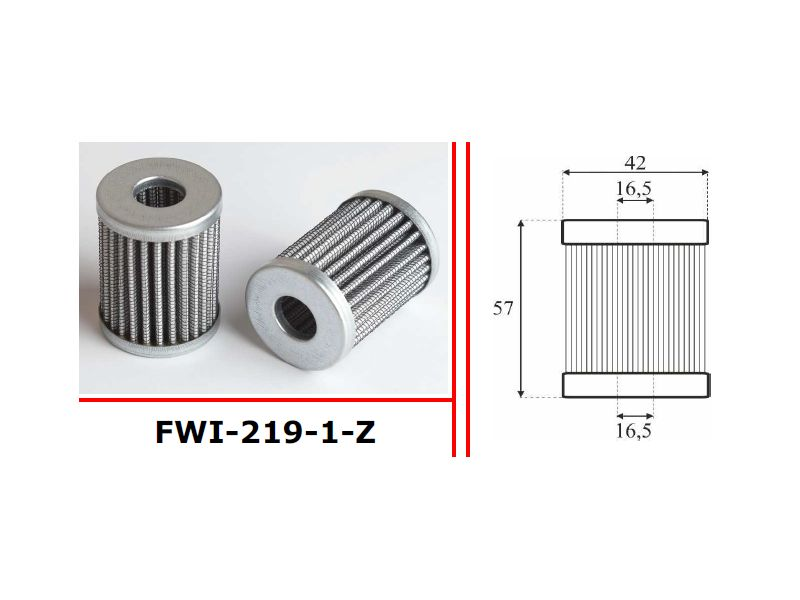FILTER PLINA BRC          FL-1444PS H-57 D-42    D-17